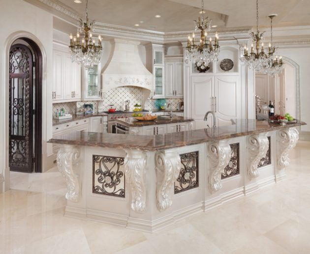15 Timeless Baroque Kitchen Designs That You Must See | Meubles et ...