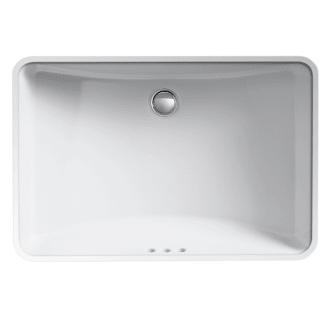 Kohler K 2215 0 White Ladena 23 1 4 Undermount Bathroom Sink With Overflow Undermount Bathroom Sink Bathroom Sink Kohler
