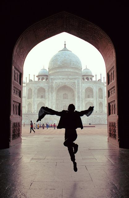 Taj Mahal http://www.flickr.com/photos/bombi515/7714027514/