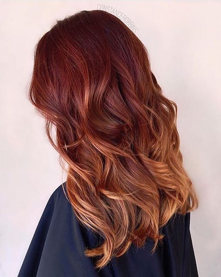 This tequila sunrise ombre by @constancerobbins using @matrixusa color has us feeling summer readyyyy  Keep sharing your best color work with us using #modernsalon!