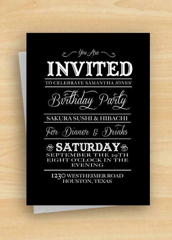 vintage country diy printable birthday party invitation party