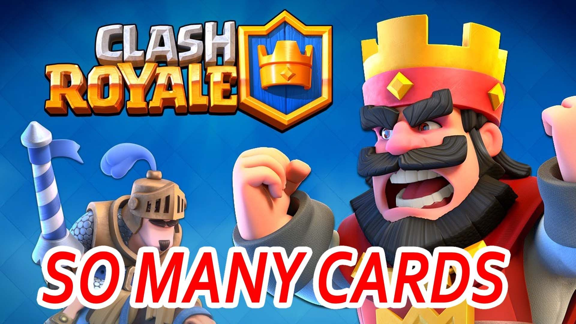 Clash royale super magical chest opening so many