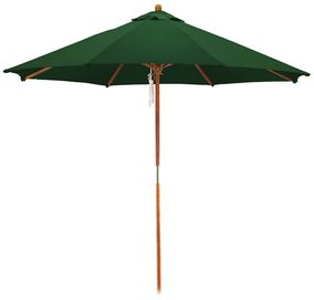 9 Wooden Market Umbrella Market Umbrella Patio Patio Umbrellas