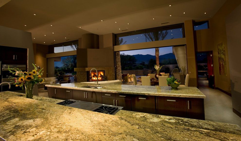 Modern mansion exterior modern with rustic exterior kitchens
