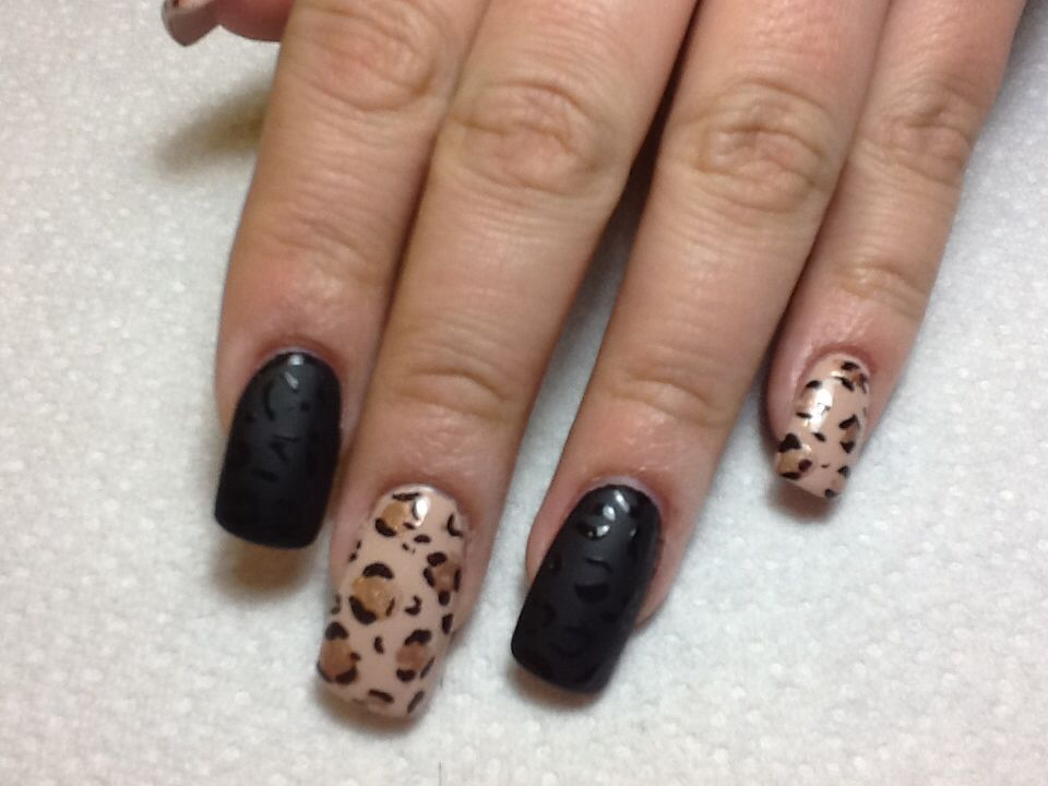 Cheetah prints design. | Top Nail Designs | Pinterest | Top nail