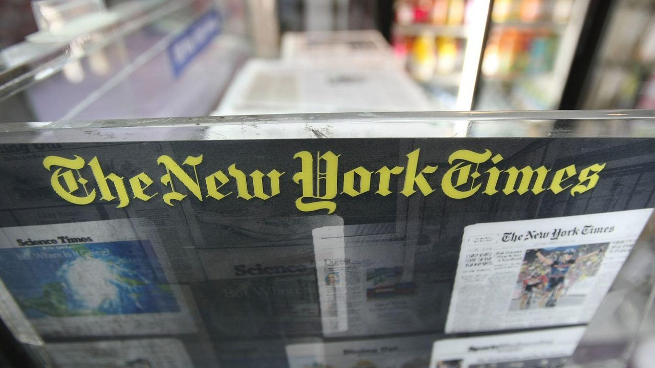 New York Times reports on right wing conspiracies then