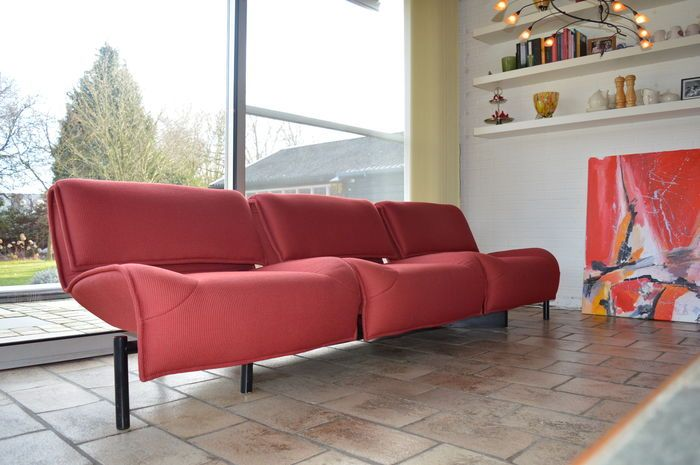 Catawiki online auction house: Vico Magistretti for Cassina - 'Veranda 1-2-3' design couch