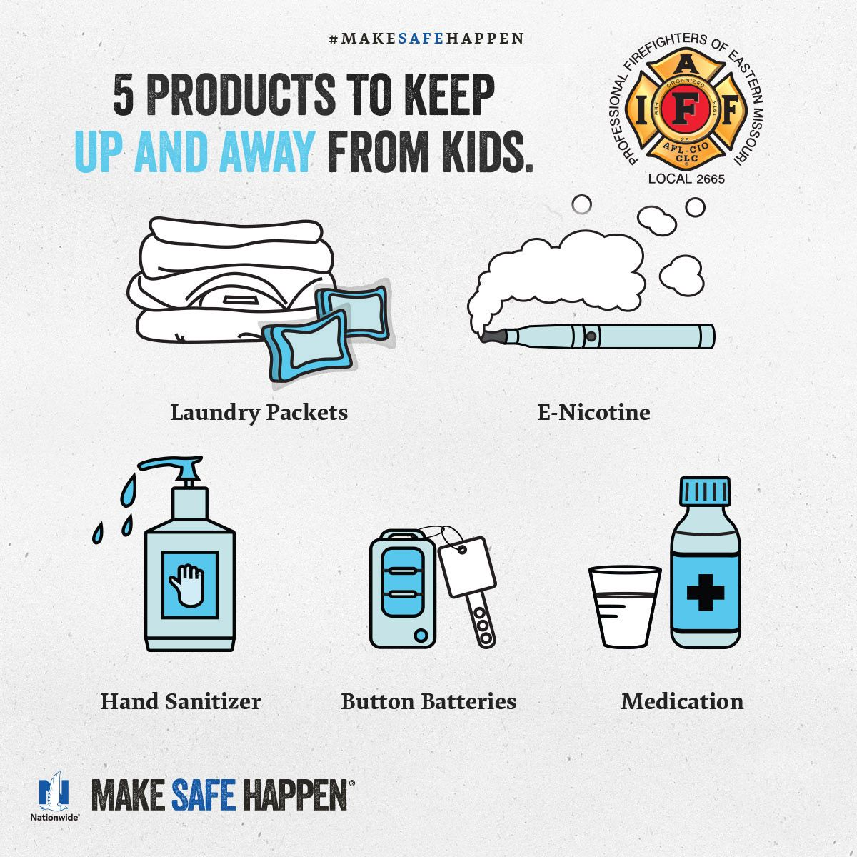 Easy Ways To Keep Our Children Safe Home Safety Checklist Hand