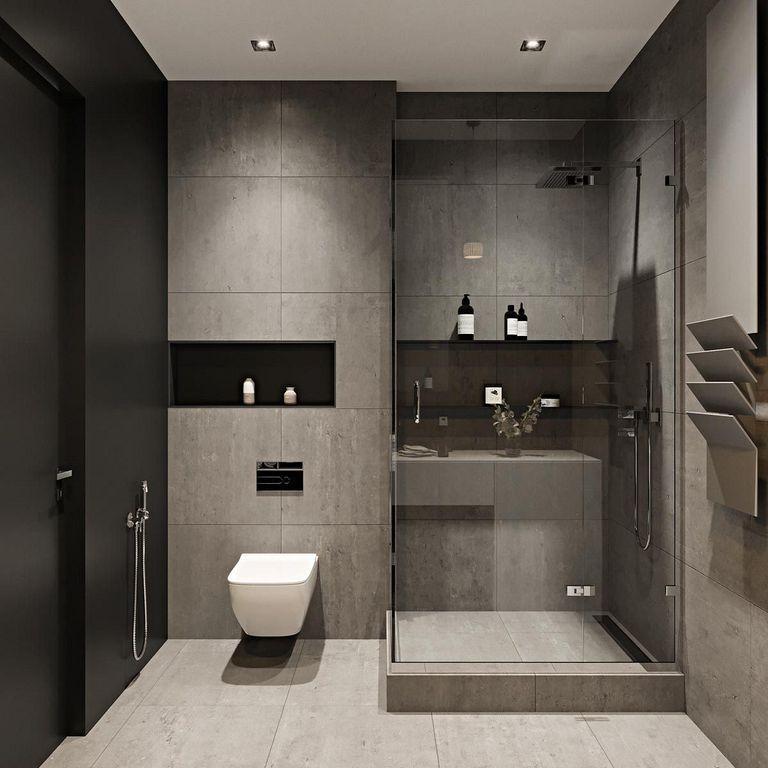 . 77  Elegant Contemporary Bathrooms For Your Home Renovation   vonia