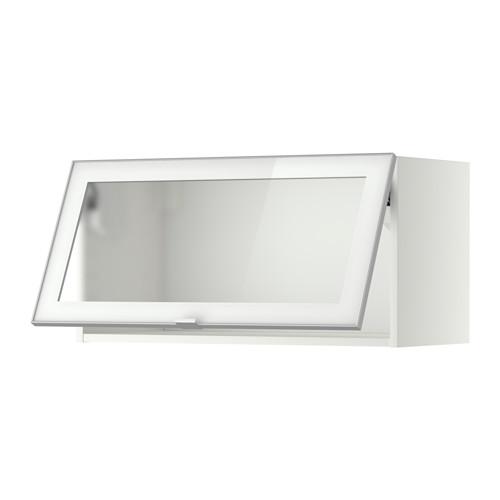 metod l ment mural horizontal vitr blanc jutis verre givr cuisine meubles pinterest. Black Bedroom Furniture Sets. Home Design Ideas