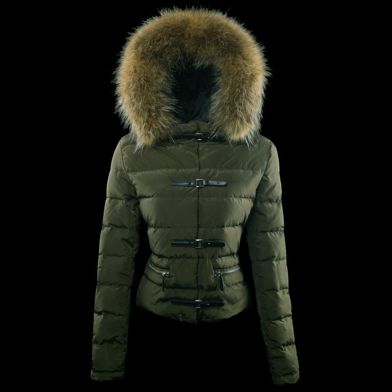 Womens Moncler Crecerelle Down Jacket Green [2900348] - £167.20 : 5% off