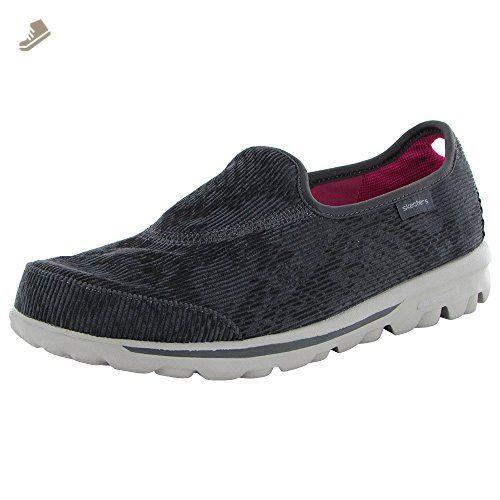 Skechers Womens Go Walk Zen 13761 Slip On Shoe Charcoal Us 6 Skechers Sneakers For Women Amazon Partner Link With Images Slip On Shoes Skechers Slip On
