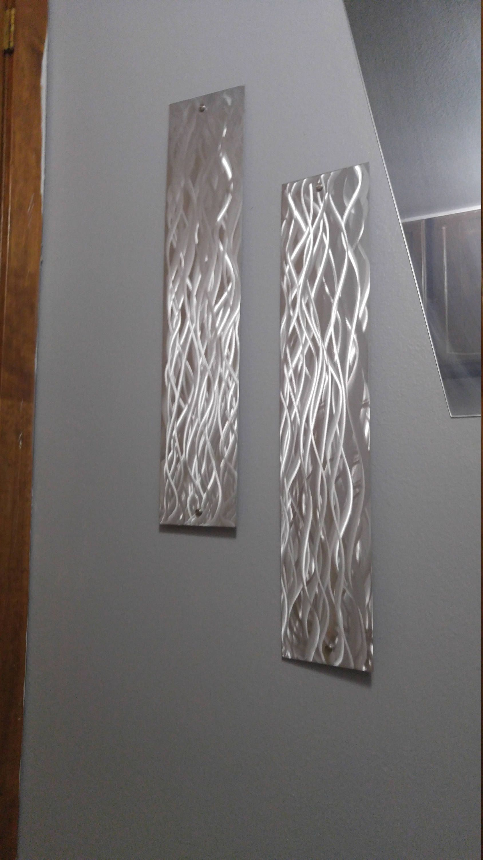 Modern Metal Wall Art Etsy Handmade Large Metal Art Decor Home