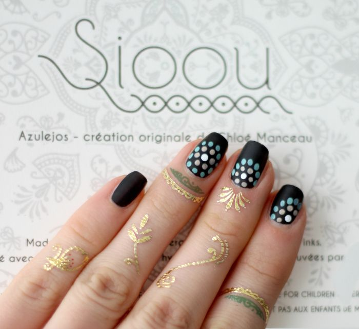 Flashtattoo als Midi-Rings Sioou