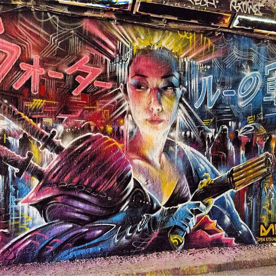 Dan Kitchener - Leake Street, London