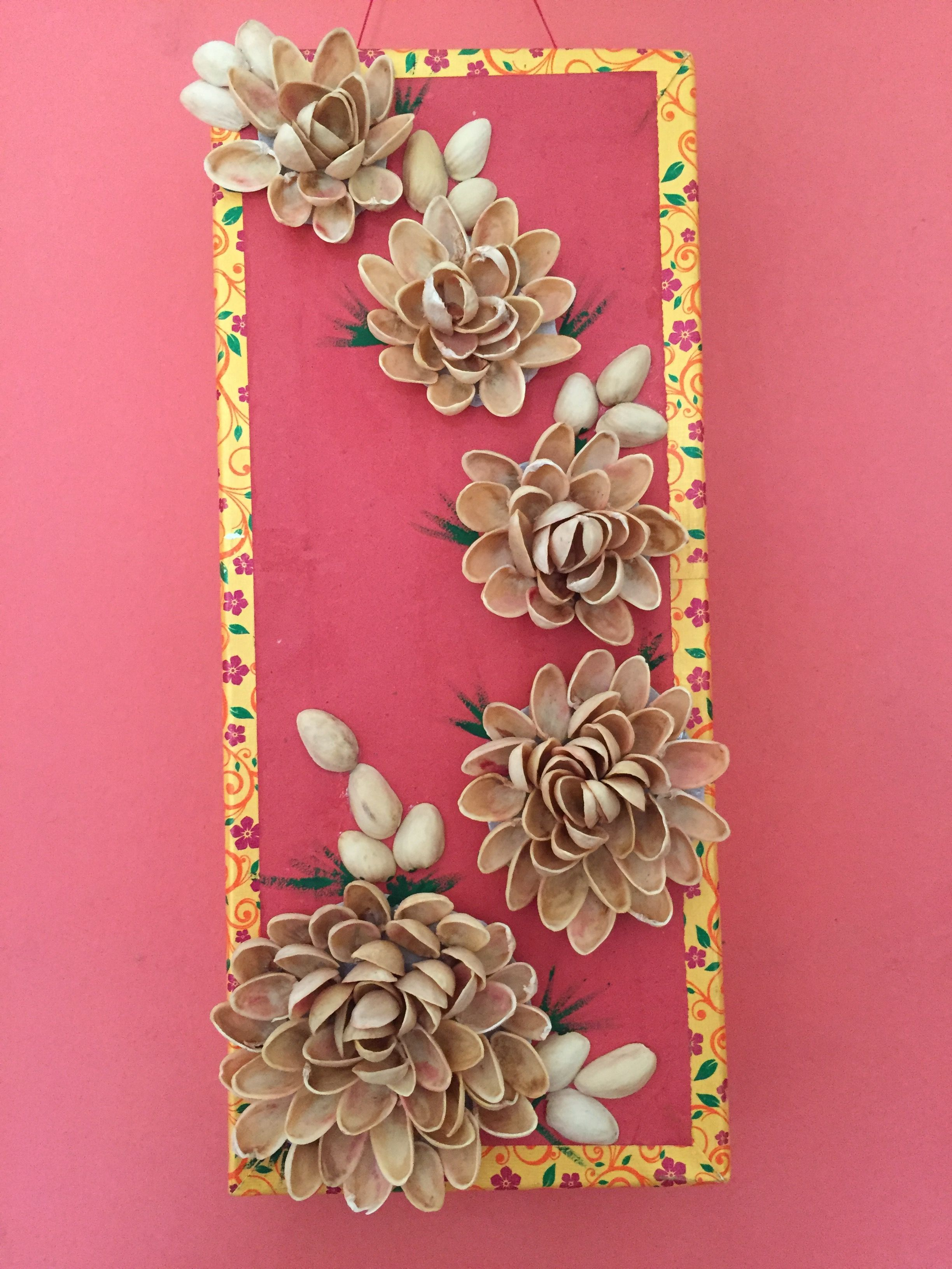 Pista Shell Photo Frame Pista Shell Crafts Shell Crafts Crafts