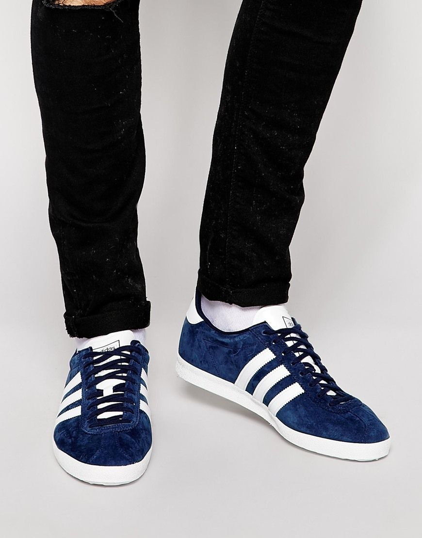Image 1 of adidas Originals Gazelle OG Trainers G13265 | #Sneakers! |  Pinterest | Trainers, Adidas and Suede leather