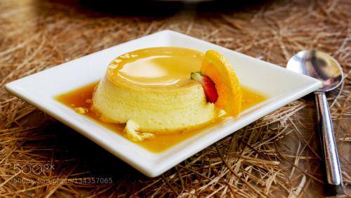 French creme caramel dessert or flan by chaolik  IFTTT 500px syrup brown brulee cake caramel catalana cotta cream creamy creme cuisine custard dair