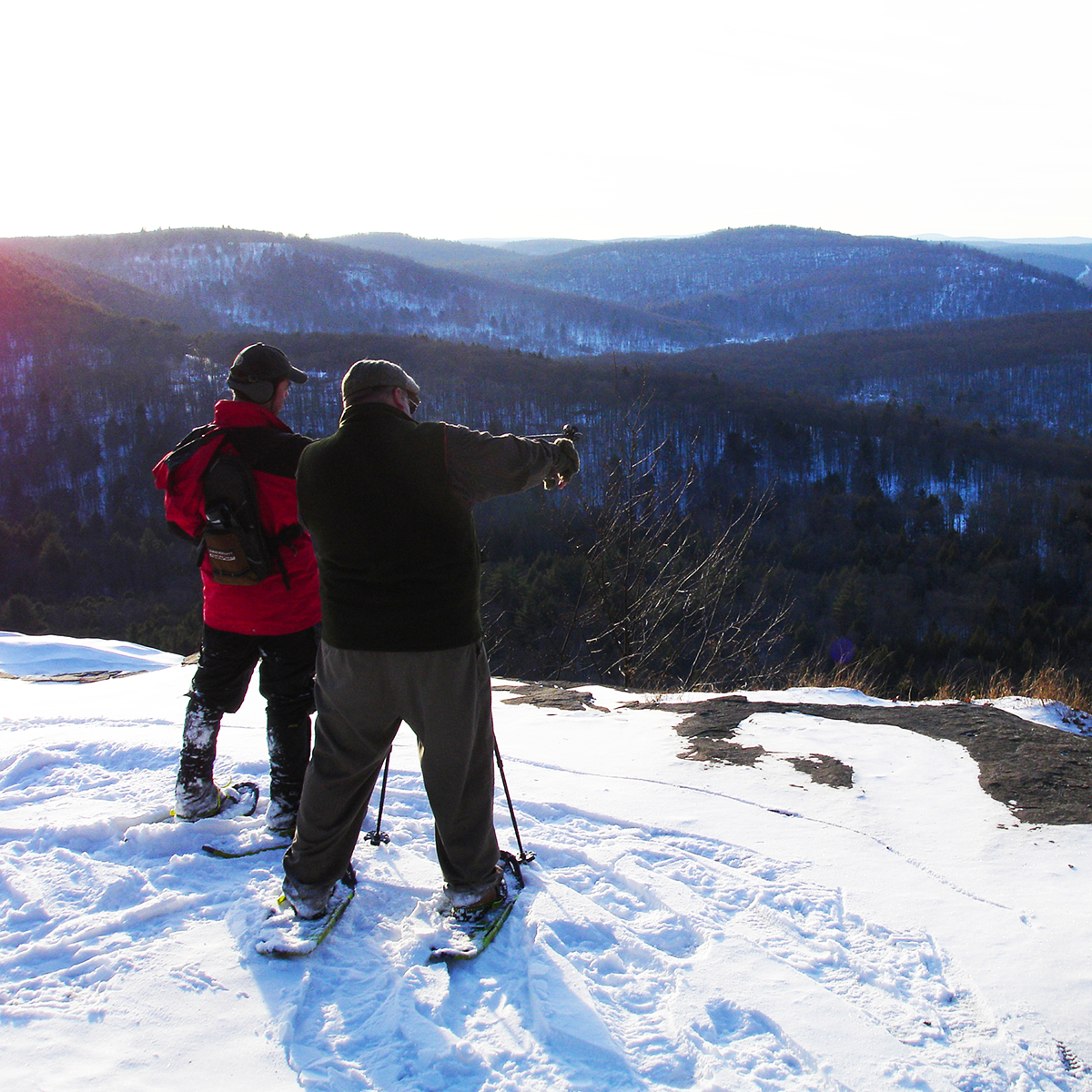 Enjoy A Snowshoeing Or Cross Country Skiing Adventure In The