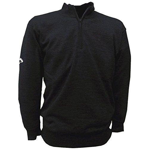 2016 Callaway Windstopper Lined Merino 14 Zip Golf Sweater