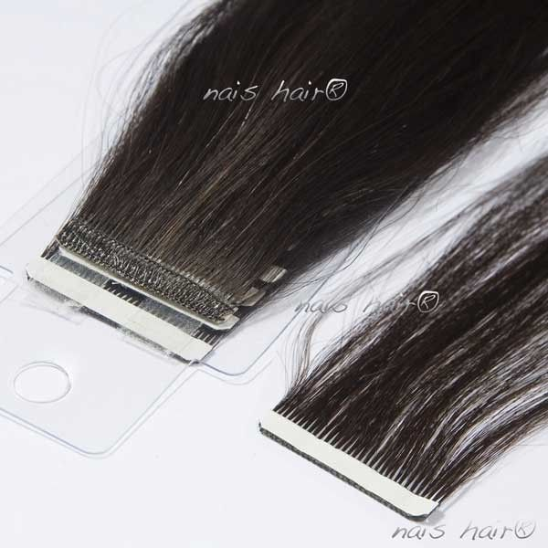 Extensiones Adhesivas 50CM Color #1B (Negro Natural)