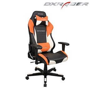 DXRacer Black White U0026 Orange Color Modern Office Chair Pc Gaming Chair
