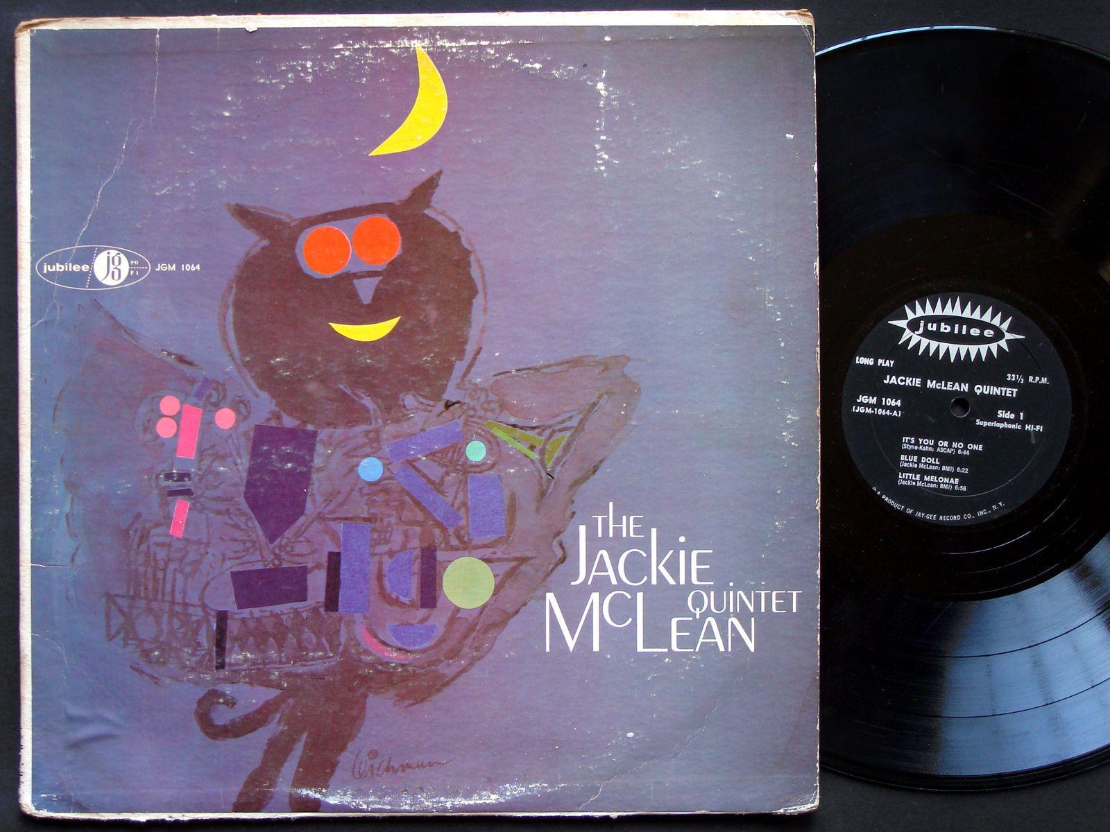 Jackie Mclean Donald Byrd Mal Waldron Doug Watkins Lp Jubilee Jgm 1064 Us 1958
