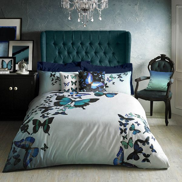 Ted Baker Butterfly Collective Duvet Cover Super King 135 Liked On Polyvore Featuring Home Bed Bath Bedd Home Super King Duvet Covers Luxury Bedding
