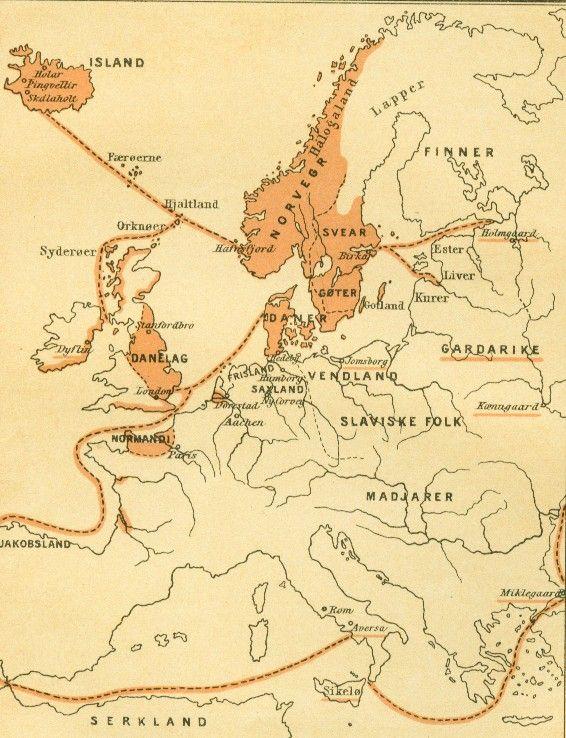 Vikingerne møder den kristne verden
