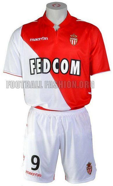 As Monaco 2013 14 Macron Home Kit Football Fashion Org As Monaco Sports Shirts World Soccer Shop