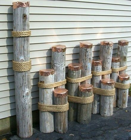Nautical Decor With Images Rope Decor Nautical Decor Rope Crafts