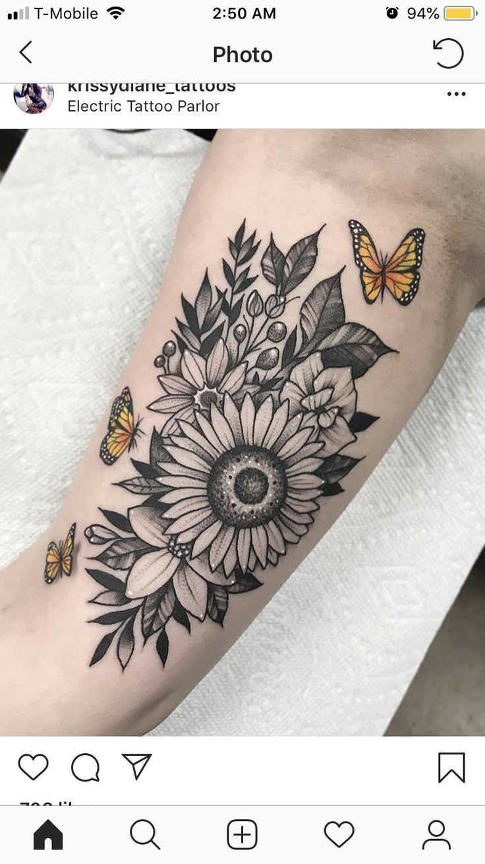 Photo of Sleeve tattoos sunflowers #sleeve #tattoos #sunflowers & Ärmel tätowierungen sonnenblumen & manchon