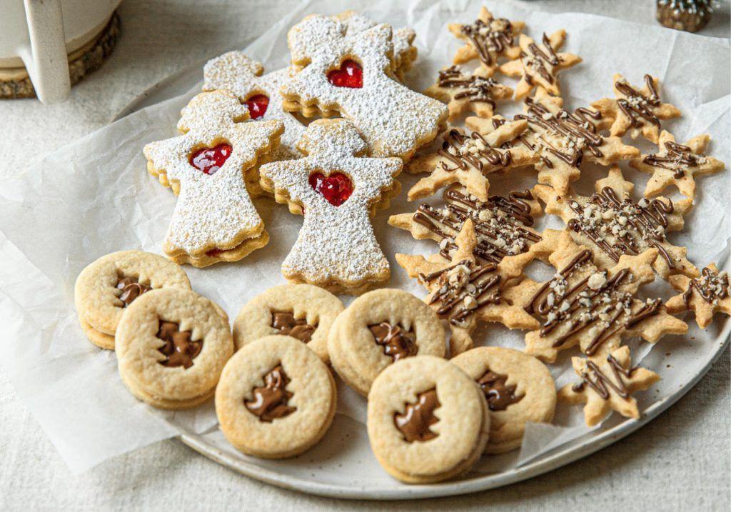 Christina Bauers Dreierlei Mürbteigkekse für Weihnachten