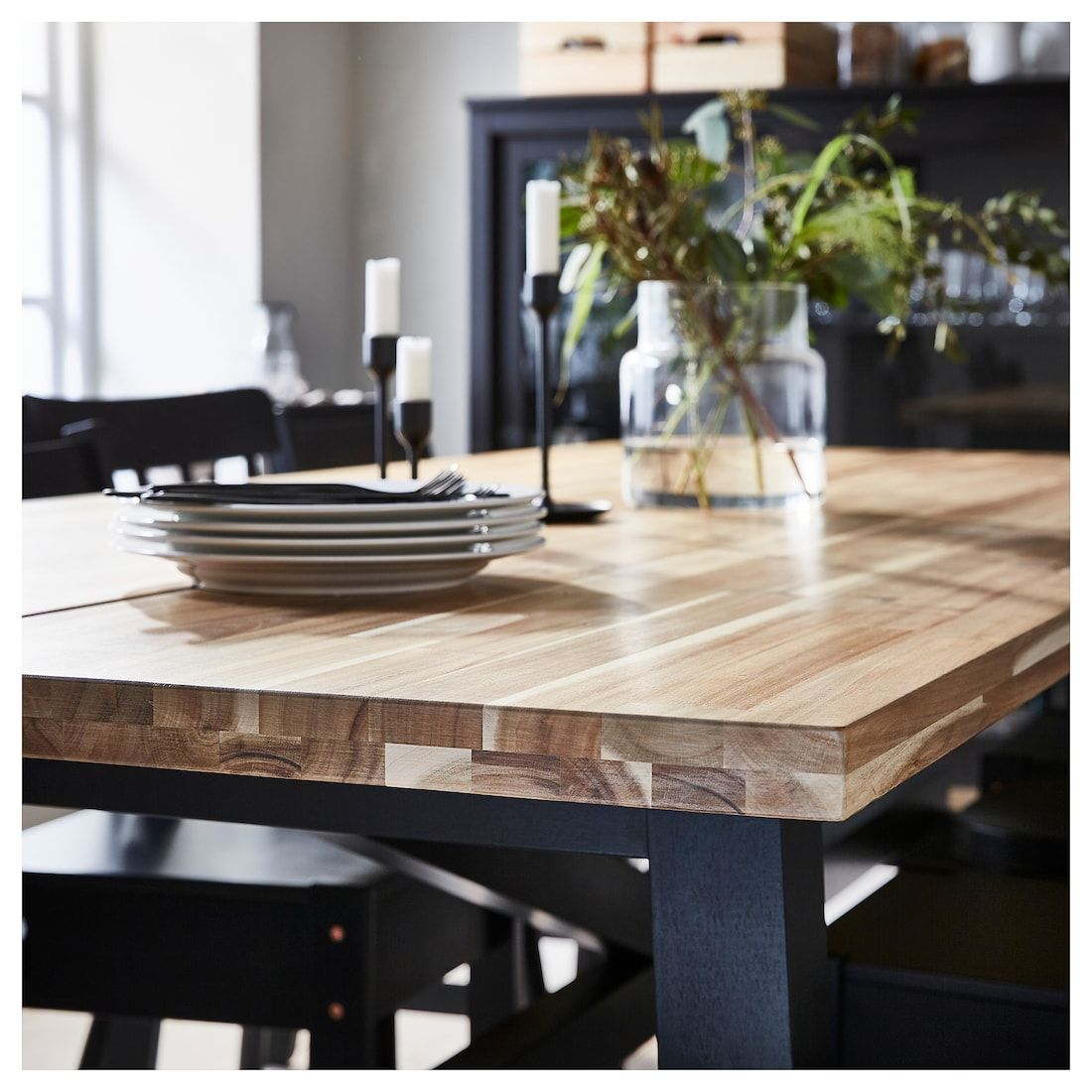 Http Www Texastreads Com Wp Content Uploads 2013 09 Solid Walnut Butcher Block Coff Japanese Dining Table Butcher Block Dining Table Black Glass Coffee Table