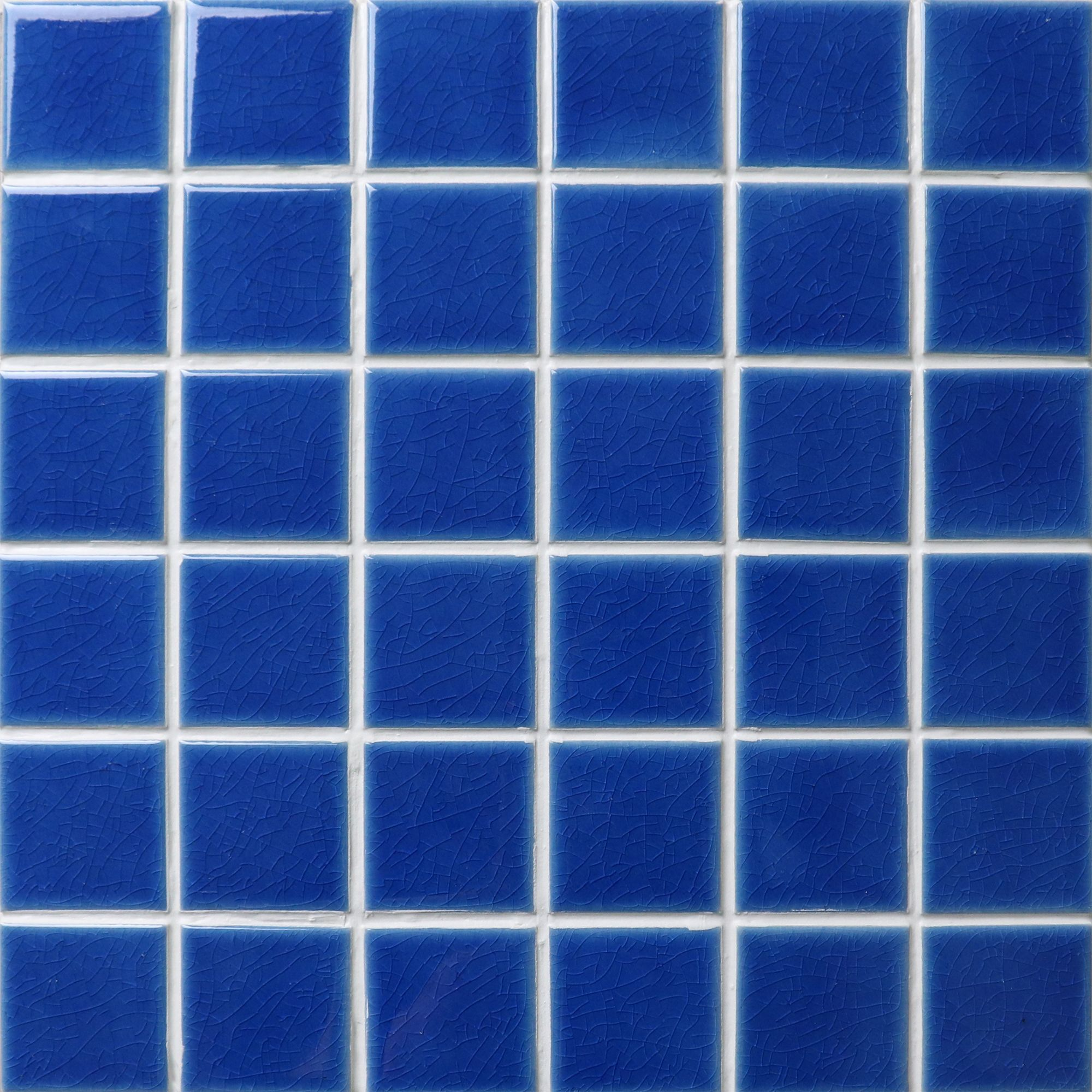 Ice crackle ceramic tile mosaic in 48x48mm is another hot selling ...