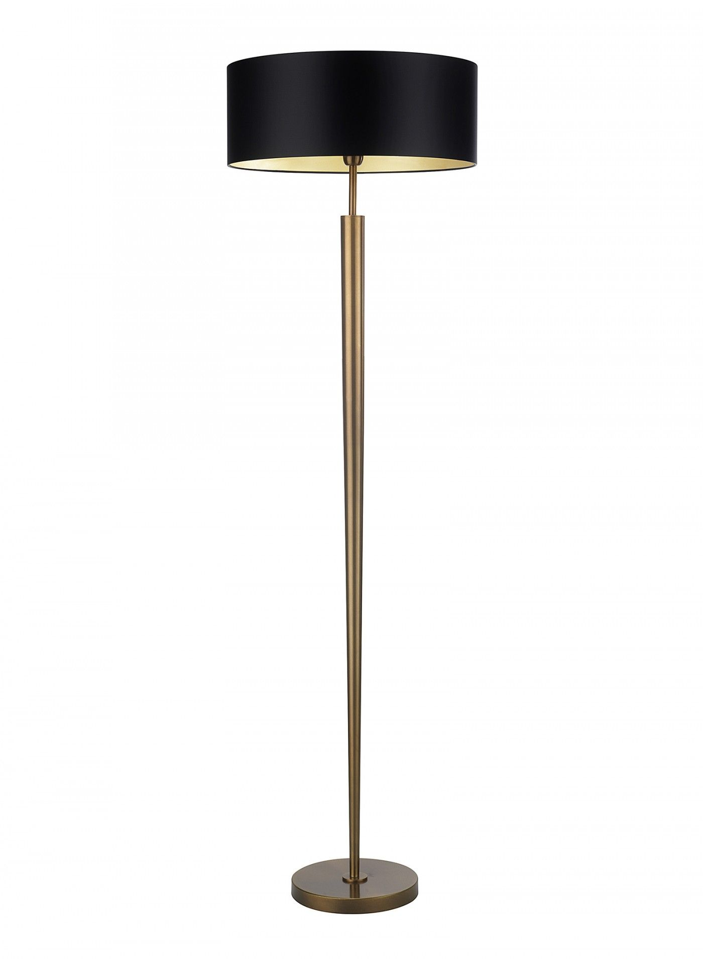Torchere Antique Brass Floor Lamp   Heathfield U0026 Co Images