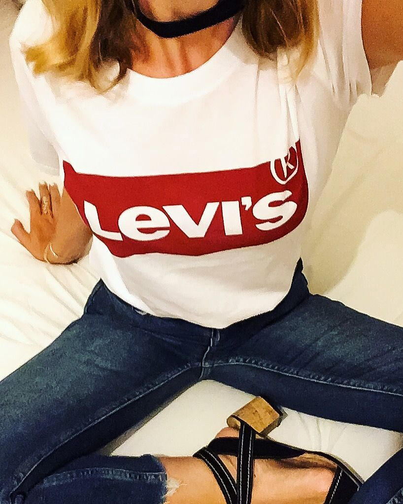 Levis tee-shirt ❤️ outfit of the day