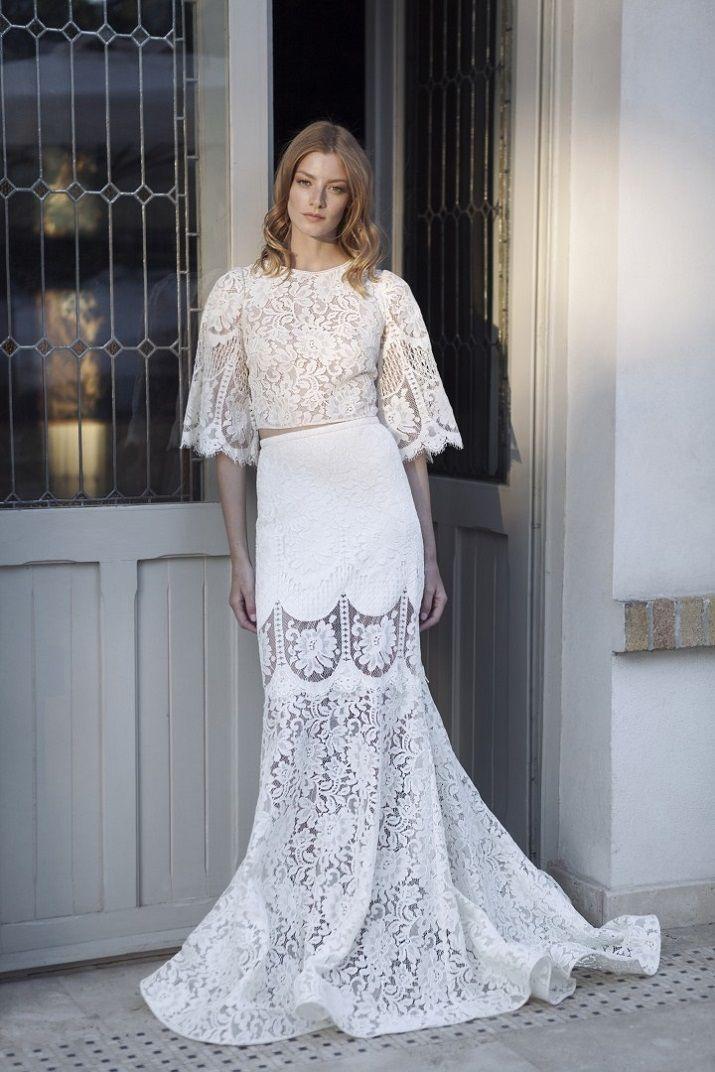 Bohemian wedding dress - Divine Atelier 2017 Wedding Dresses | itakeyou.co.uk #weddingdress #weddingdresses #bridaldress