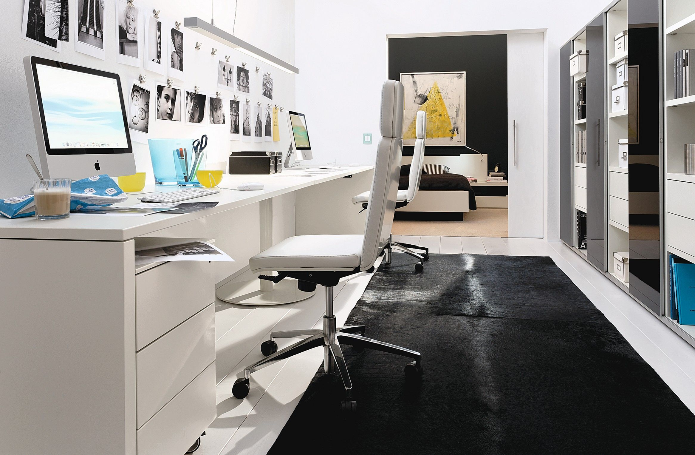 Make Your Work Improvement With 25 Best Modern Small Home Office