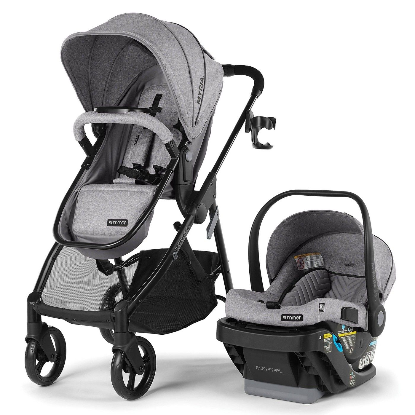 Summer Infant Myria Modular Travel System with Affirm 335