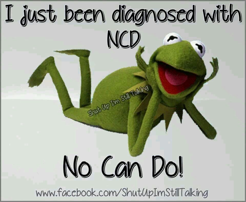 Funny Kermit The Frog: Muppets Kermit The Frog, I Just Been Diagnosed Wi