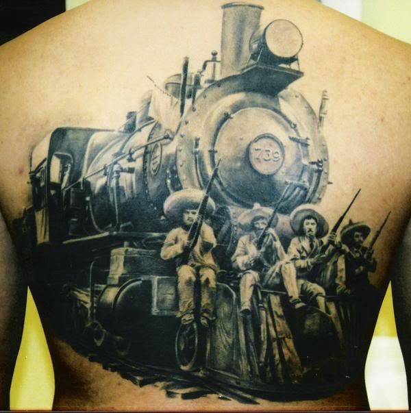 Train Tattoo Art Designs Bodysstyle Train Tattoo Tattoos For Guys Tattoos