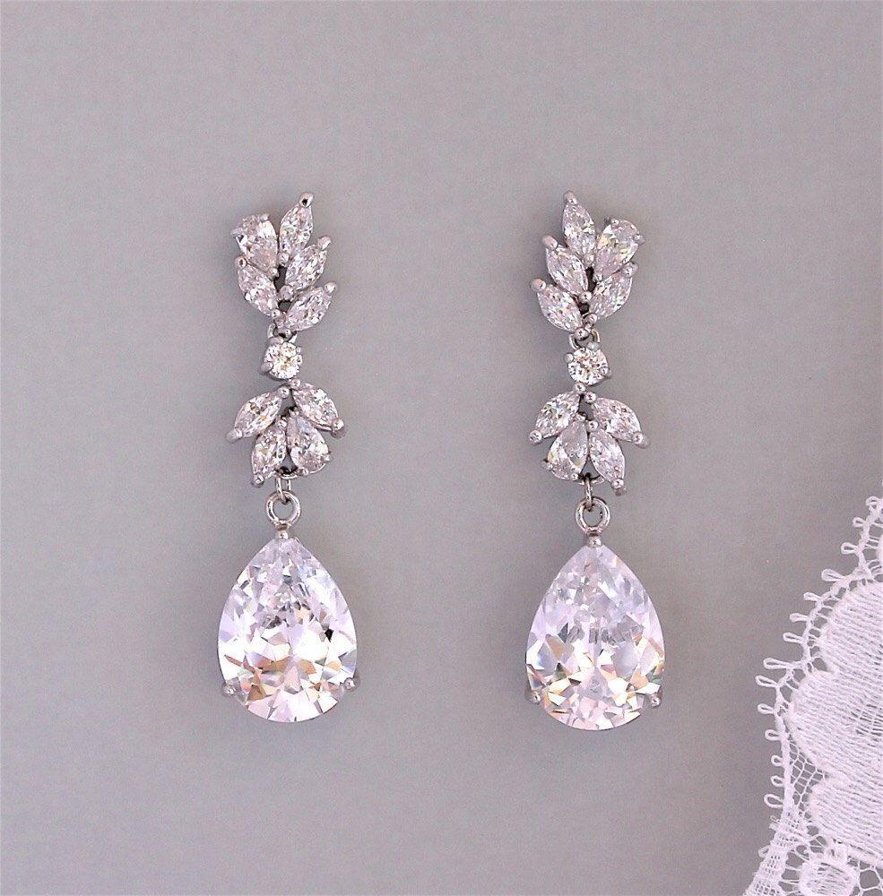 Bridal earrings wedding earrings crystal chandelier bridal bridal earrings wedding earrings crystal chandelier bridal earrings crystal bridal jewelryannie arubaitofo Choice Image
