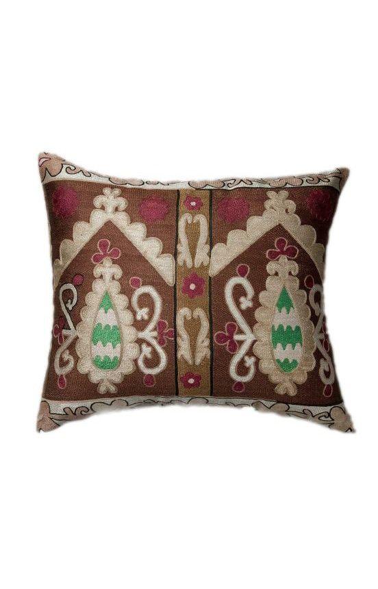 Awesome Pillows Decorative | Suzani Decorative Pillow Multi