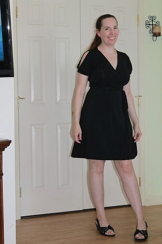 back in black (with quasitutorial) Appleton Dress