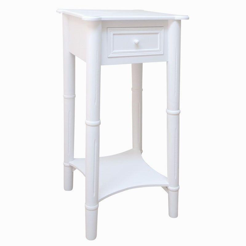 Best Hohes Schmales Beistelltisch Skinny Bedside Table Thin 640 x 480