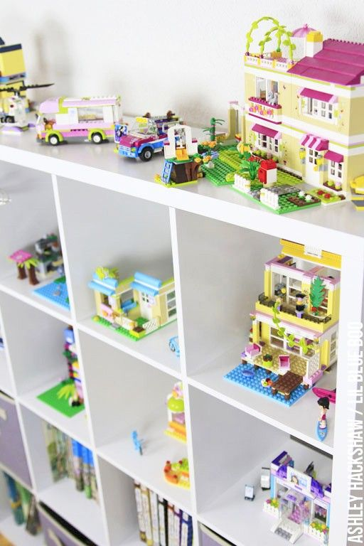 lego friends storage ideas play room and kids room organization - Boys Room Lego Ideas
