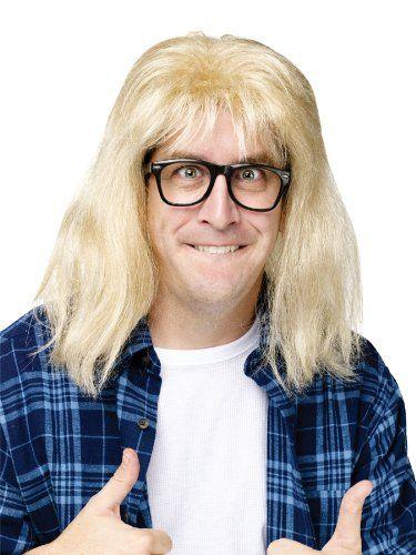 Wayne S World Garth Algar Blonde Wig For Men Garth Algar Costume