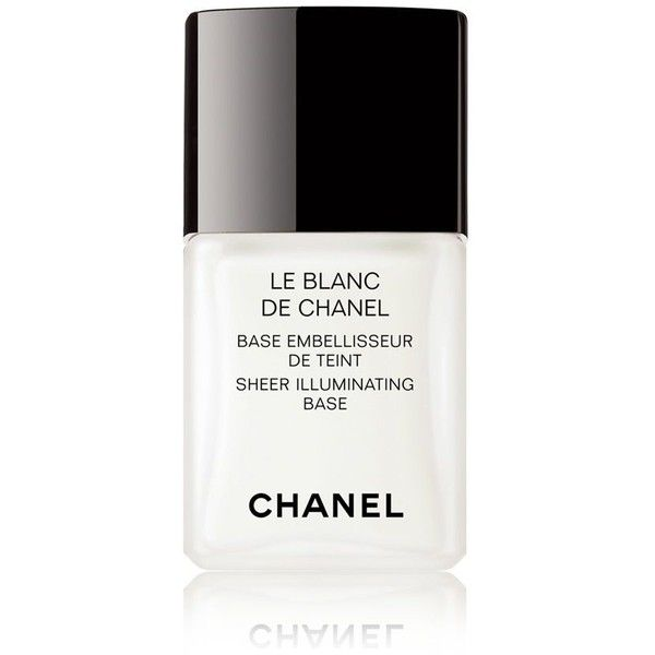 49028848dca LE BLANC DE CHANEL Sheer Illuminating Base (120 BRL) ❤ liked on Polyvore  featuring