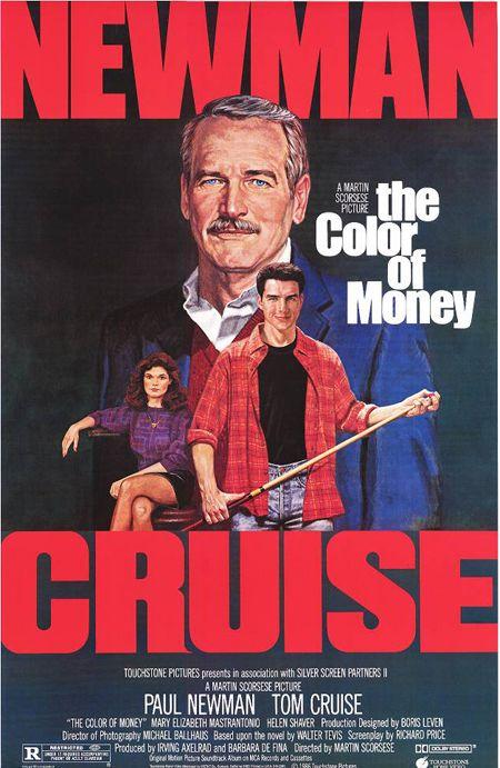 La Couleur De L'argent : couleur, l'argent, Couleur, L'argent, Color, Money,, Cruise, Movies,, Movie, Posters, Vintage